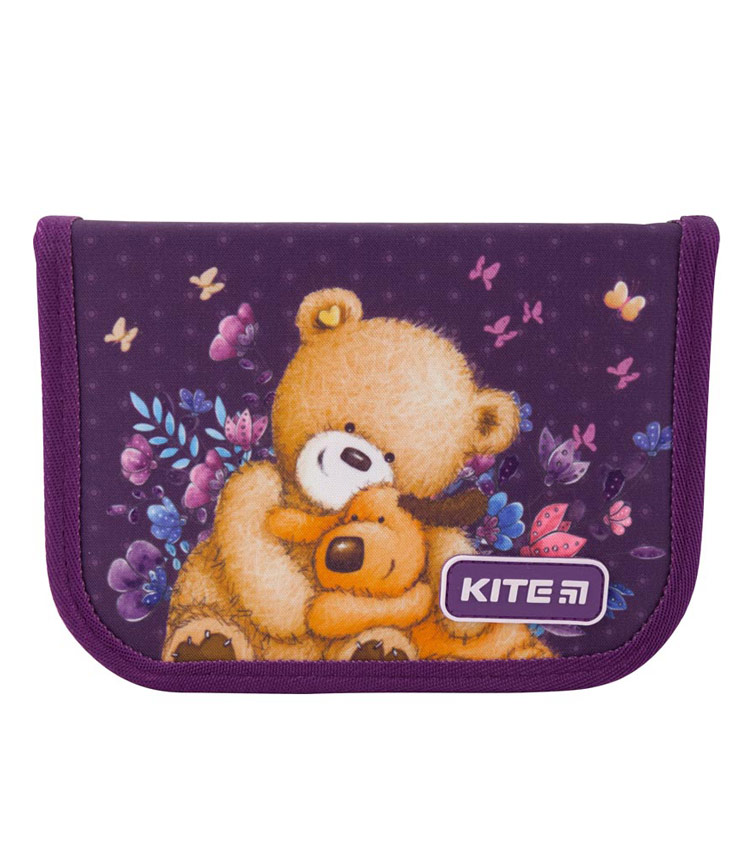 Пенал Kite Education Popcorn the Bear PO19-622