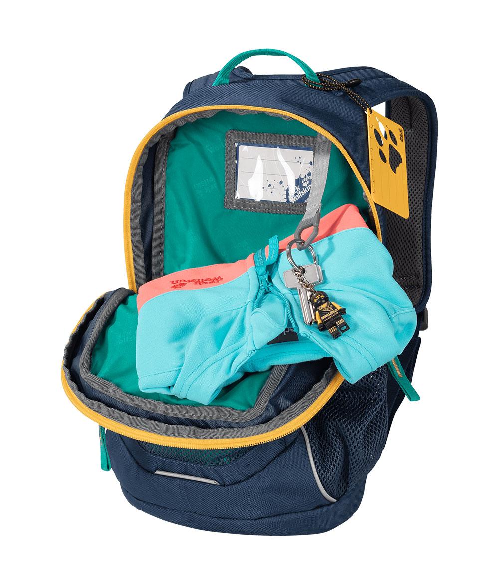 Детский рюкзак Jack Wolfskin TRACK JACK Green Ocean