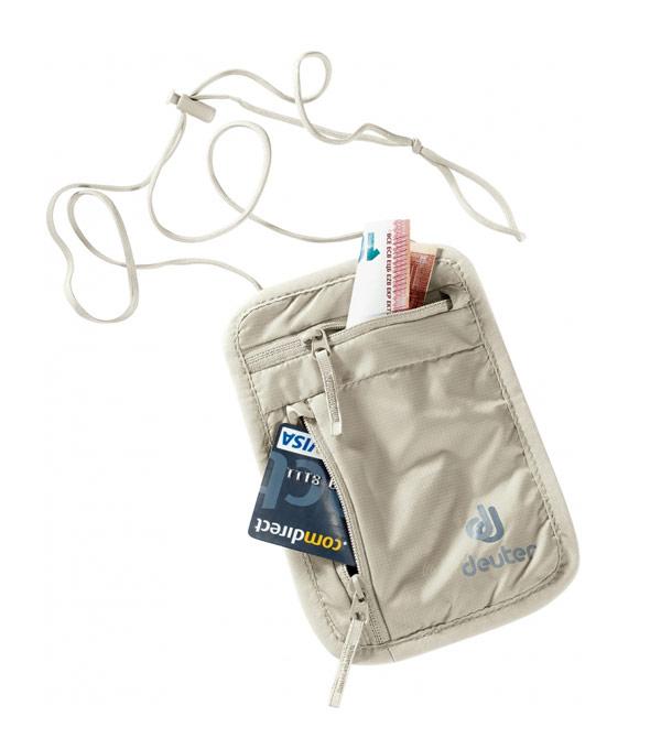 Нагрудный кошелек Deuter Security Wallet I sand