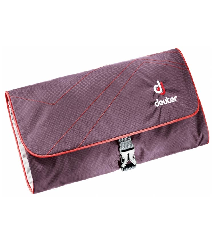 Несессер Deuter Wash bag II aubergine-fire