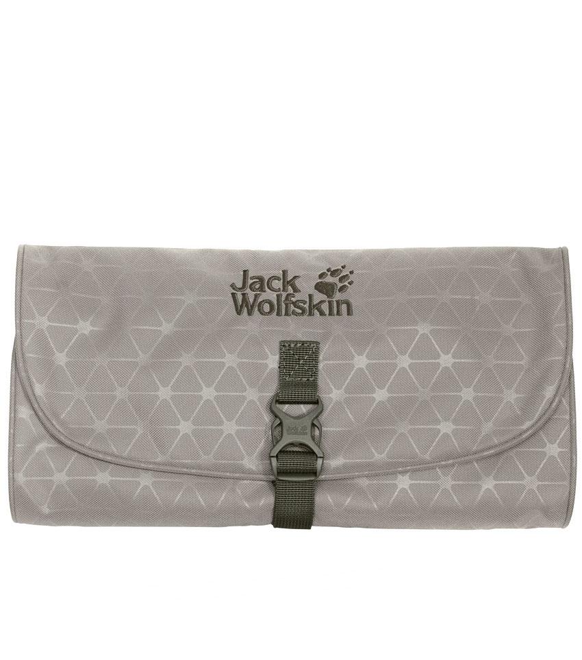 Несессер Jack Wolfskin WASCHSALON Clay Grey Grid