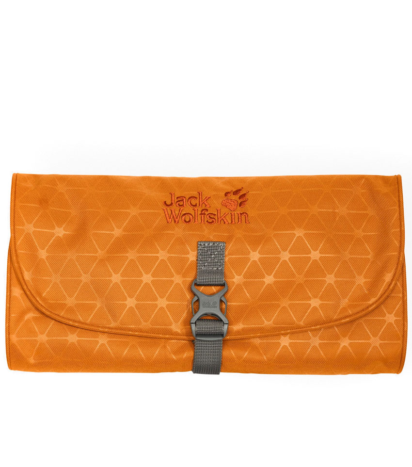 Несессер Jack Wolfskin WASCHSALON Orange Grid