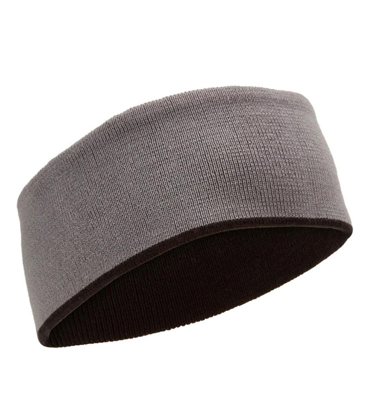 Повязка на голову WEDZE reverse grey-black