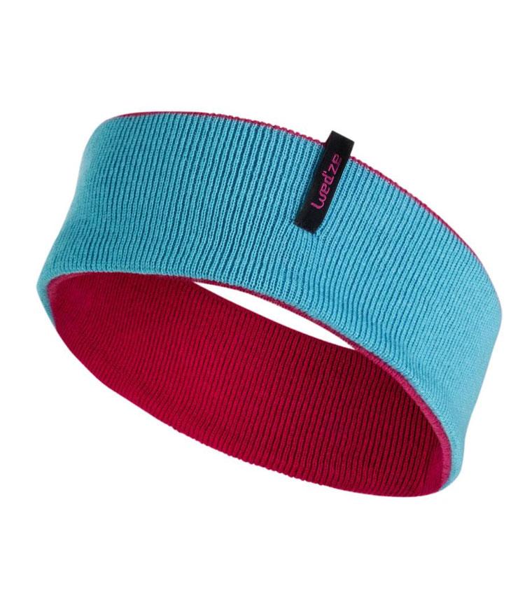 Повязка на голову WEDZE reverse pink-blue