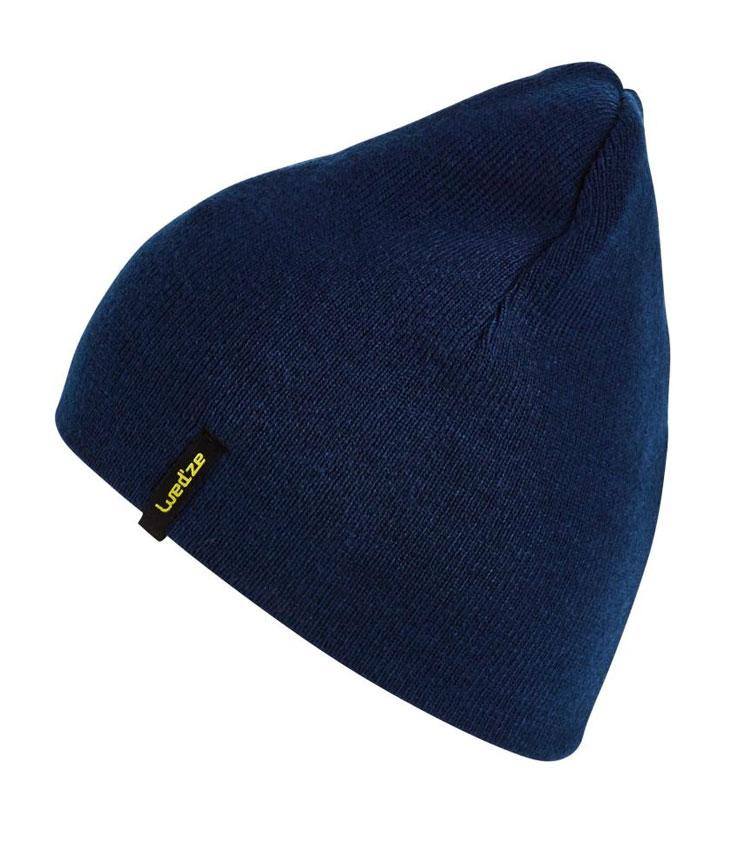 Шапка двухсторонняя WEDZE REVERSE blue-yellow