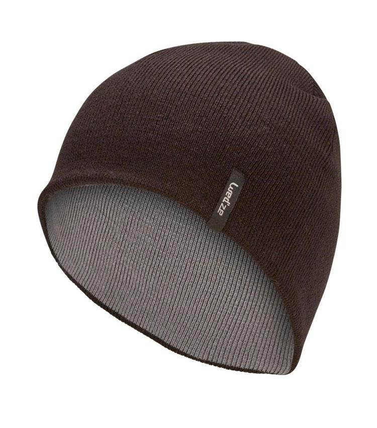 Шапка двухсторонняя WEDZE REVERSE brown-grey