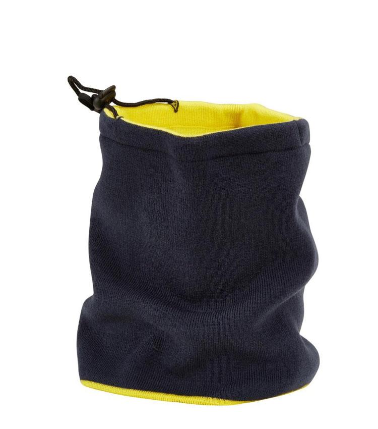 Шарф-труба с завязкой WEDZE blue-yellow