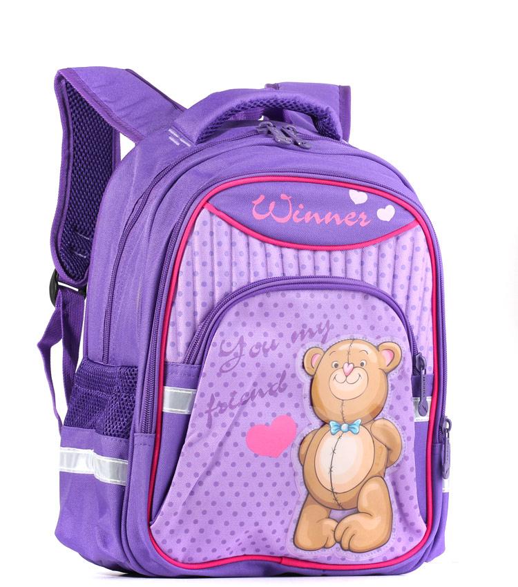 Школьный Рюкзак Winner 906 purple