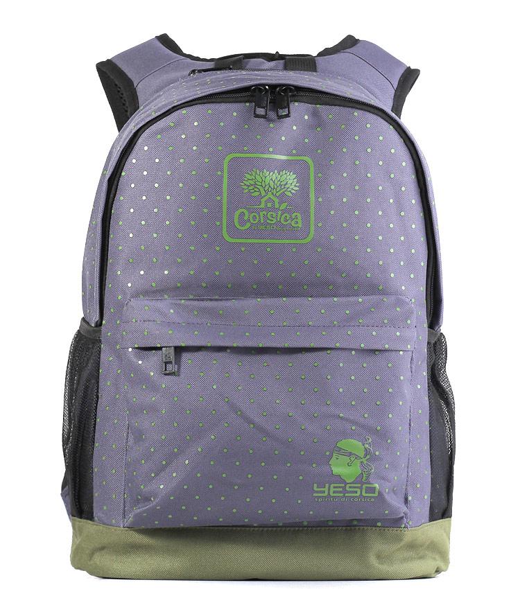 Рюкзак Yeso Corsica purple-phistashio