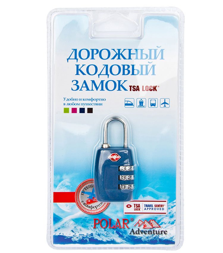 Кодовый замок Polar 800717 blue